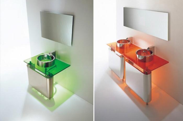 zwei-schöne-bilder-kreative-waschtische-mit-bunter-beleuchtung-tolles-badezimmer