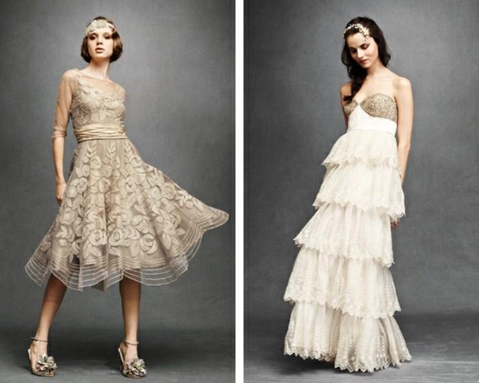 Hochzeitskleider 20er Jahre Mode Kleider Von 2018