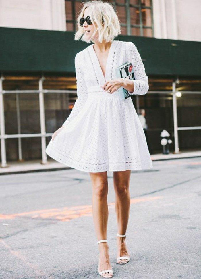 00-zärtliches-Modell-Damen-Sandalen-in-Weiß