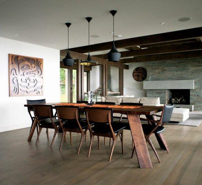 Der esszimmertisch und sein platz unter den m beln for Esszimmertisch holz modern