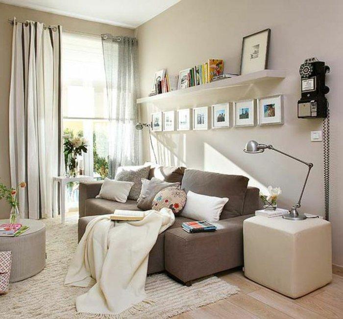 Attraktiv 11 Kleine Räume Einrichten Ideen Für Komfort Kleines Wohnzimmer ...
