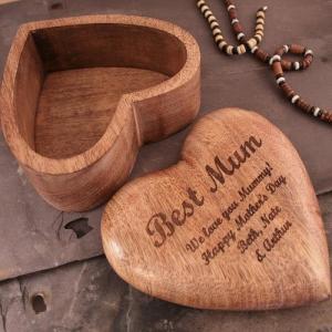 Schmuckschatulle aus Holz - die beste Geschenkidee!