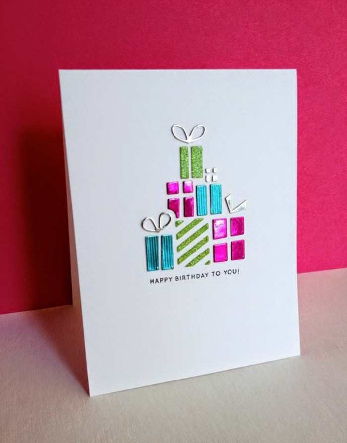 Geburtstagskarten Selber Gestalten Ideen In 80 Bildern