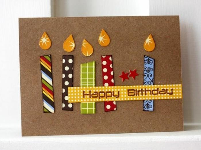 Coole-Geburtstagskarten-selbst-gestalten-kerzen