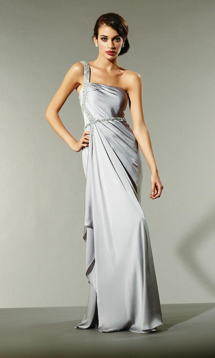 Elegante-Kleider-schulter-bodenlang