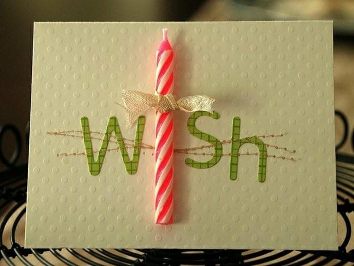 Geburtstagskarten -basteln-ideen
