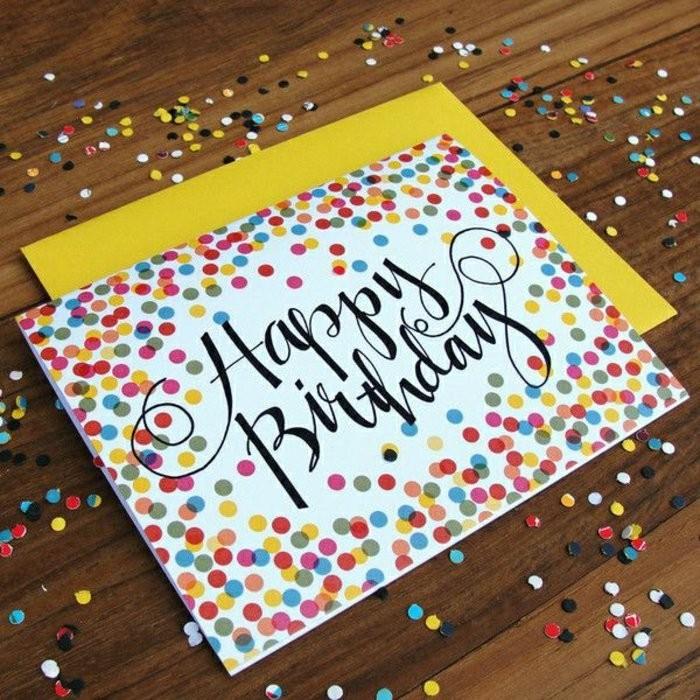 Geburtstagskarten Selber Gestalten