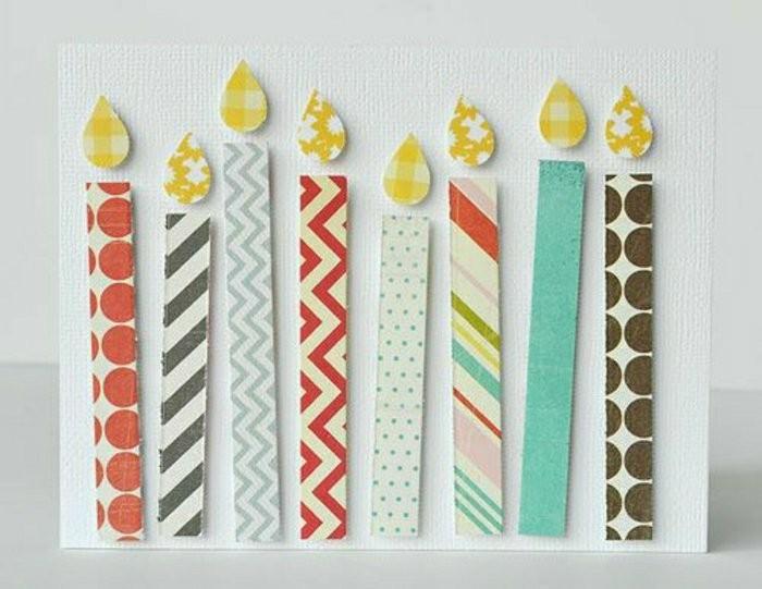1001 Ideen Wie Sie Geburtstagskarten Selber Gestalten