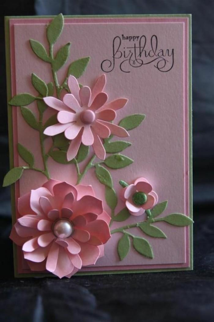 Glückwunschkarten-geburtstag-blumen-selber-basteln