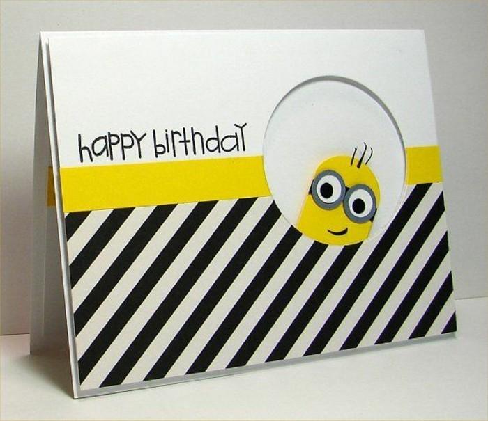 Art schlichter for Geburtstagskarten ideen