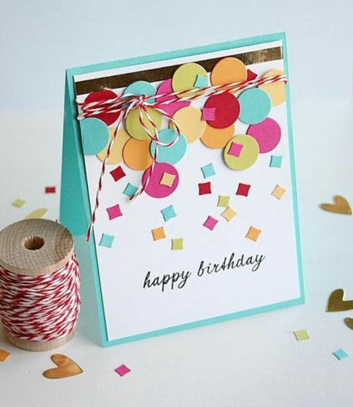 Karten zum 80 geburtstag basteln for Geburtstagskarten ideen