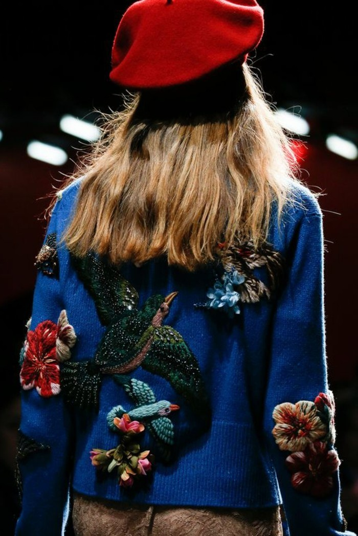 Gucci-2015-Kollektion-rotes-Barett