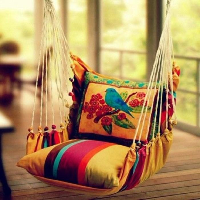 Hängematte Wohnung Balkon Weiche Kissen