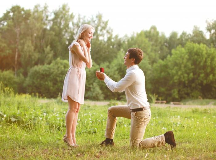 Ideen-für-Heiratsantrag-auf-einer-Wiese
