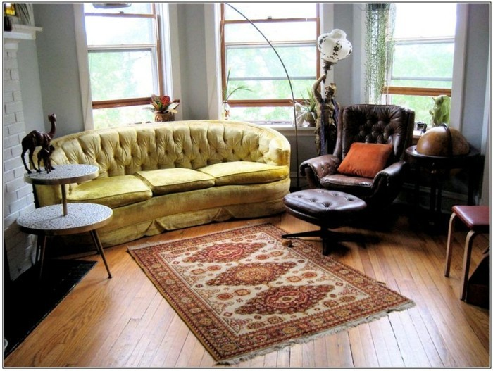 Ideen-für-Wohnzimmer-mit-Perserteppich