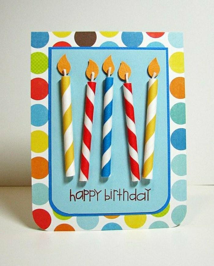 Karte-Geburtstag-mit-selbst-gestalteten kerzen