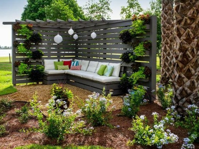 Sch ner garten und toller balkon gestalten ideen und tipps for Gartenidee hang