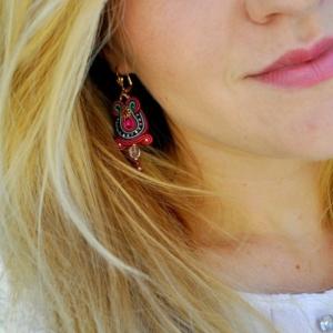 Effektvolle Ohrringe selber machen - Ideen und Tipps