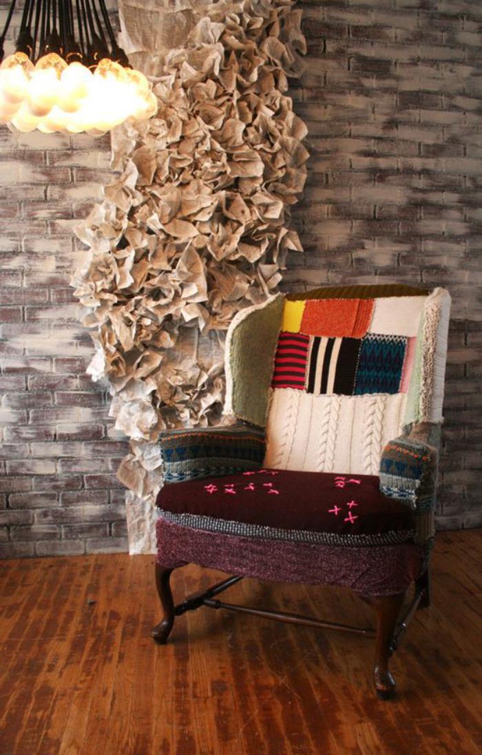 Patchwork-Möbel-eine-fantastische-Wohnidee