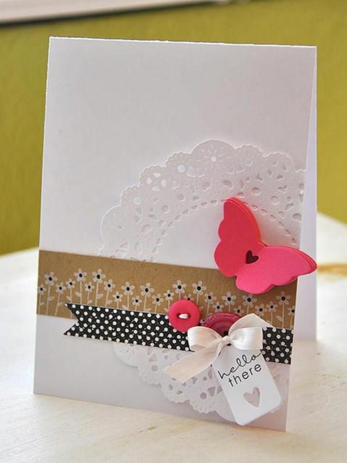Schöne-Geburtstagskarten-schmetterling-selber-machen