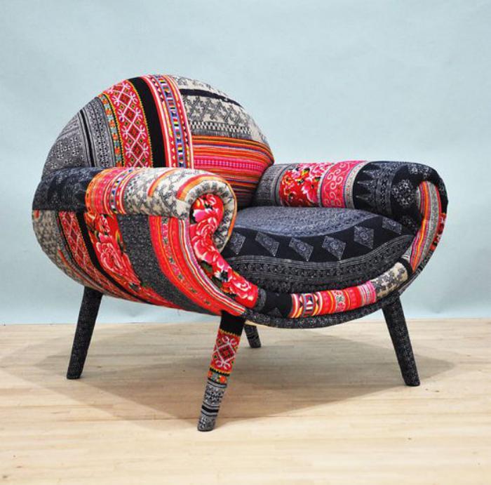 Patchwork-Sessel-mit-einzigartigem-Design