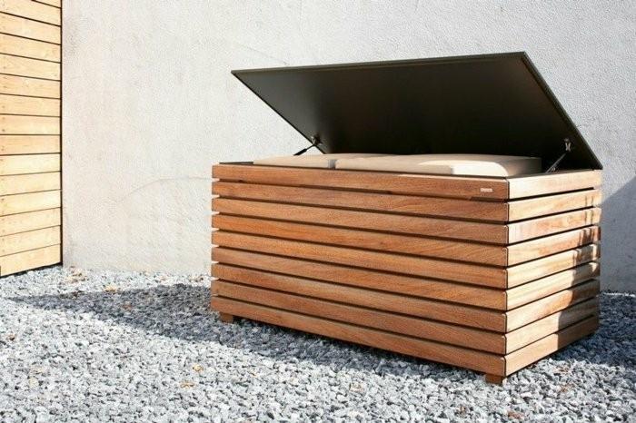 Sitzbank F R Den Garten sitzbank mit stauraum für innen oder außen archzine