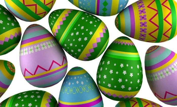 Wallpaper-Ostern-mit-Eiern-mit-Blumenmuster