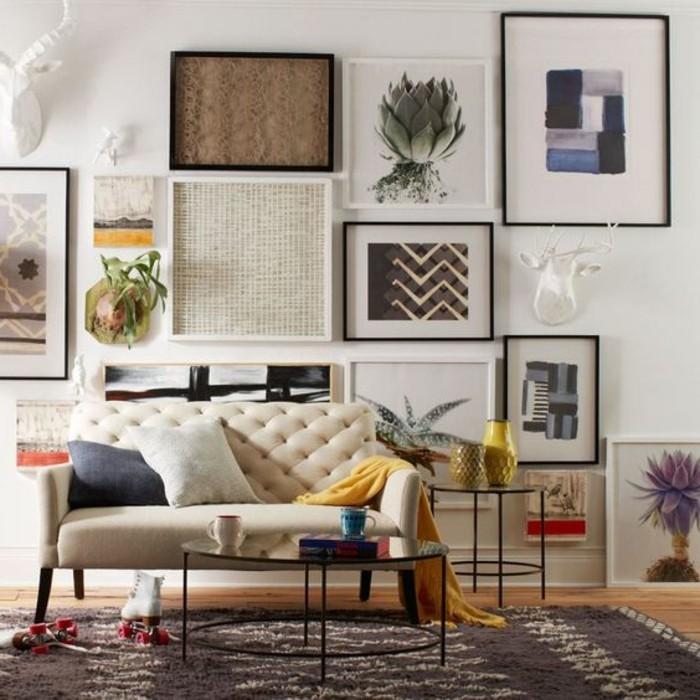 Zweisitzer-Couch-und-die-Kunst