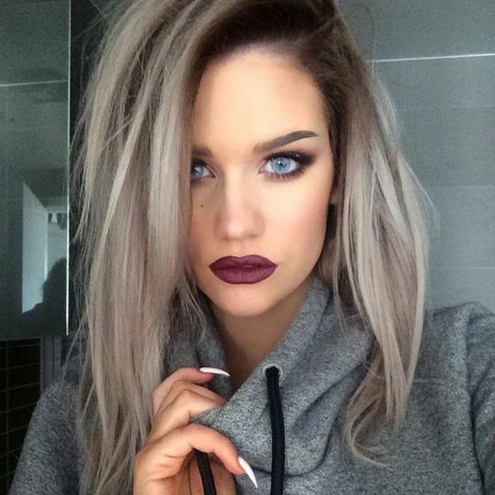 Haarfarben brauntone