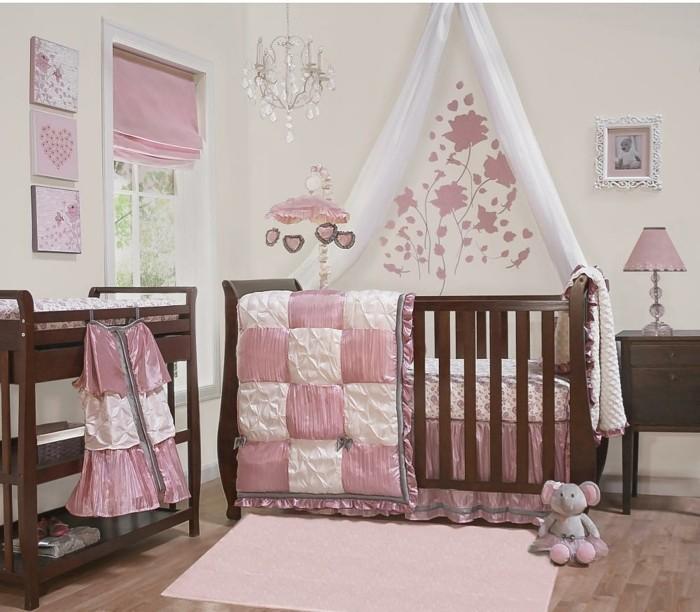 attraktive-babybetten-hölzernes-modell-babybett-himmel