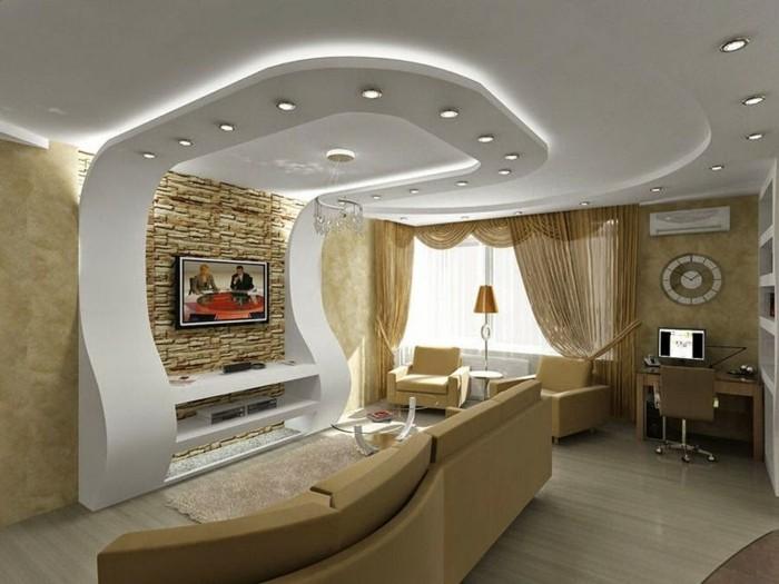 auffällige-deckenverkleidung-modernes-aussehen-vom-wohnzimmer