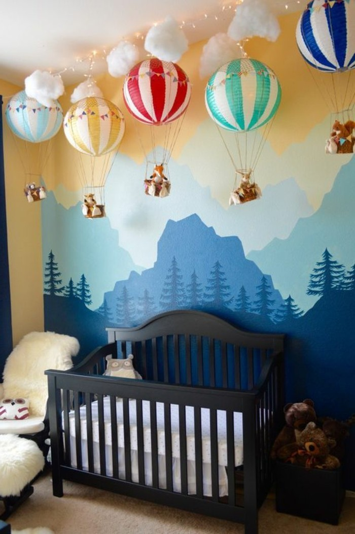 baby room ideas 110 kreative ideen fototapete f 252 rs kinderzimmer 12696