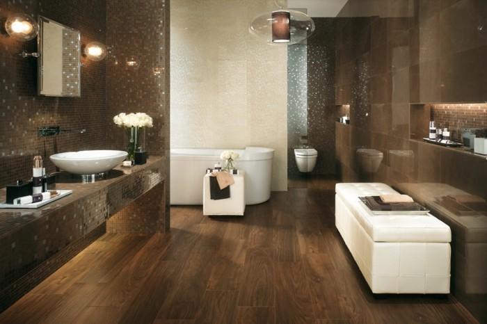 badezimmer-bodenfliesen-holzoptik-modernes-design-weißes-waschbecken