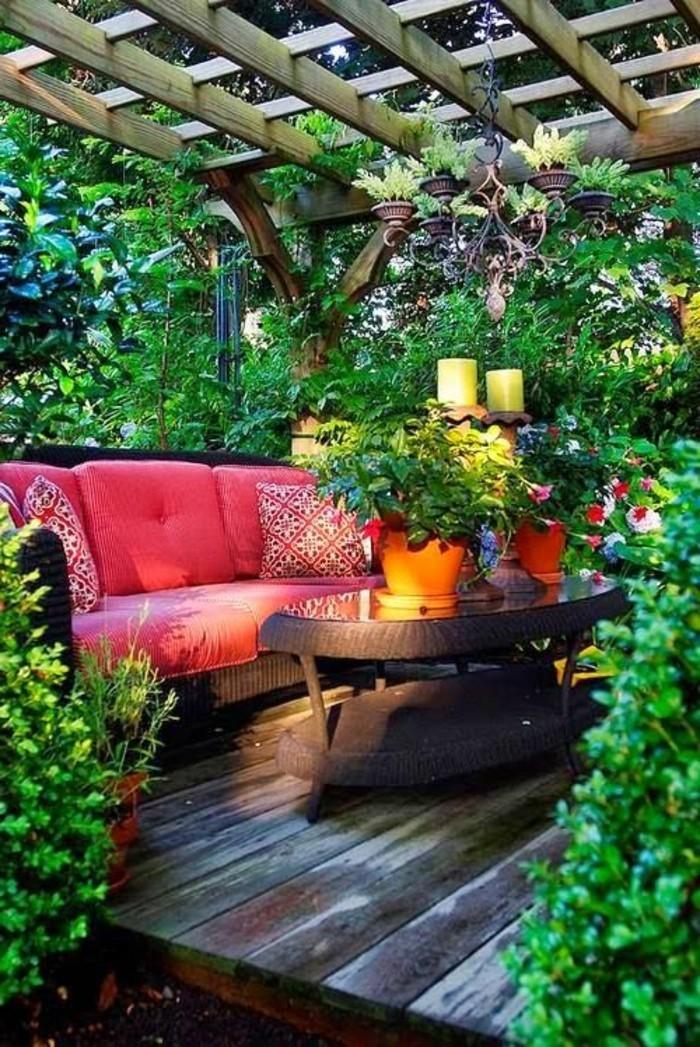 balkon-bepflanzen-rattan-möbel-mein-schöner-garten