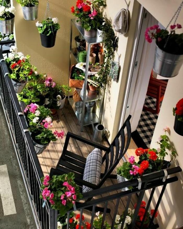balkon dekor bepflanzen. Black Bedroom Furniture Sets. Home Design Ideas