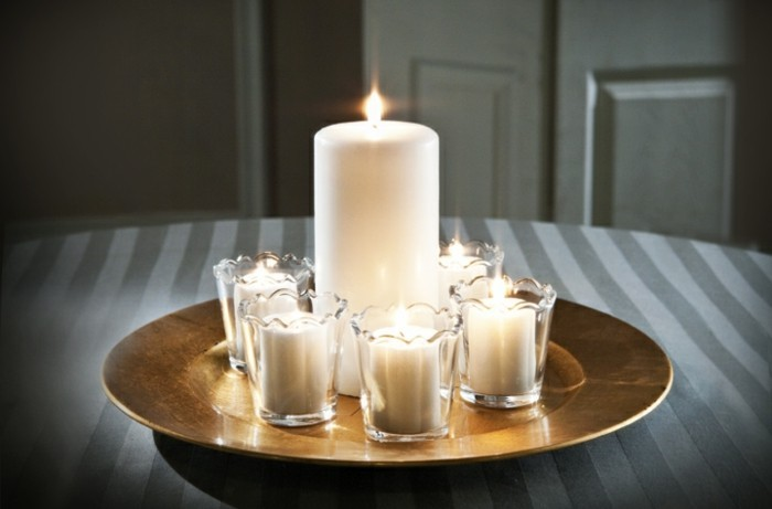 Kerzen Dekoration.Besondere Kerzen Ideen Für Ungewöhnliche Dekoration