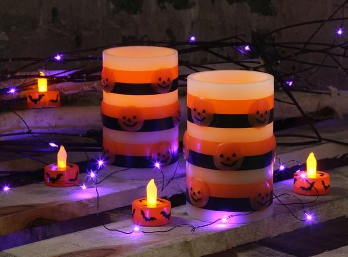 bild-kerze-zu-Halloween-dekoration
