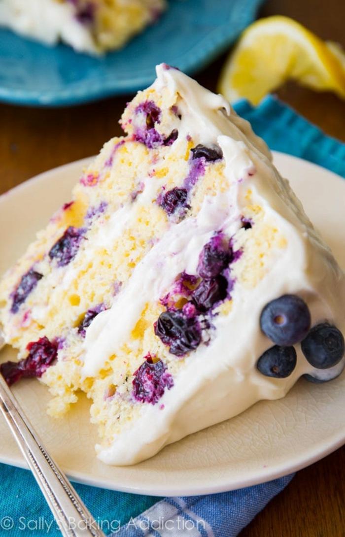 blaubeerkuchen vanilleglasur geburtstagskuchen für anfänger torte zum geburtstag selber machen leckere ideen geburtstagsparty
