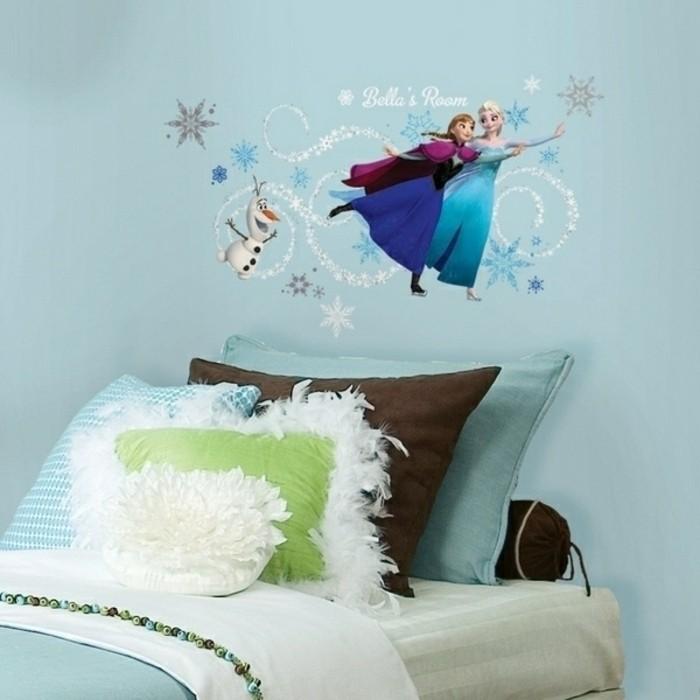 Kinderzimmer Wandgestaltung Disney : blauewandgestaltungdisneyinspiriertkinderzimmerfototapeten