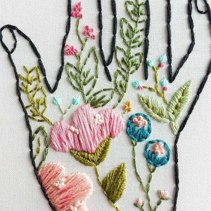 blumen-sticken-lernen-in-einem-Hand