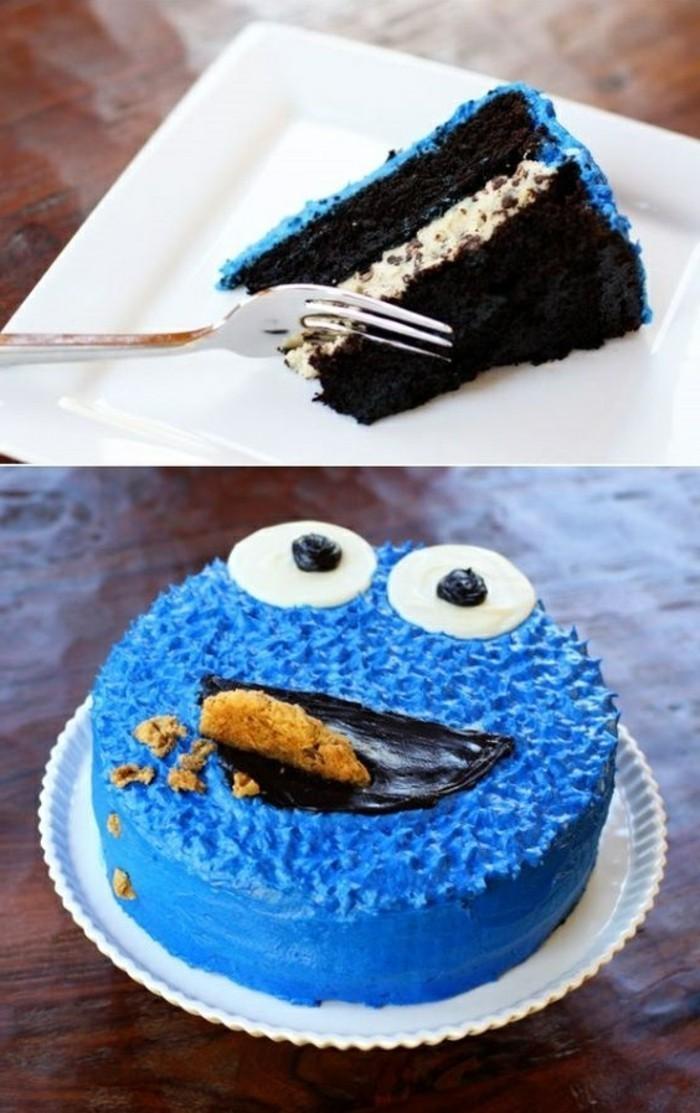 coole-Idee-für-Kuchen-für-Kindergeburtstag-Cookie-Monster