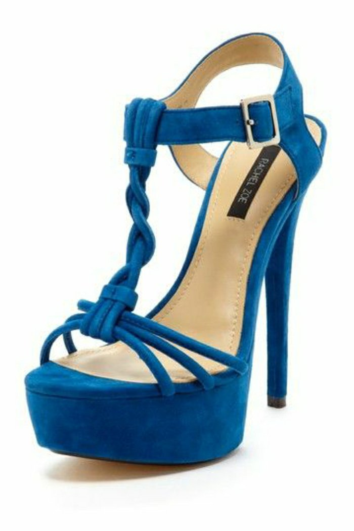 coole-blaue-Damen-Sandalen-von-Rachel-Zoe