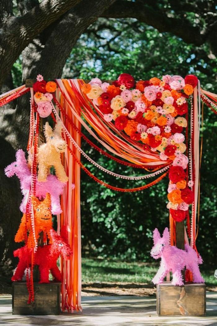 deko-zur-taufe-sehr-lustige-gartendekoration.mit-vielen-rosen