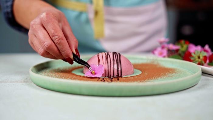 dessert mit himbeeren nachtisch einfach lecker schnell panna cotta rezept