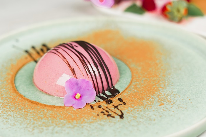 dessert mit himbeeren nachtisch ideen zum valentinstag leckere rezepte