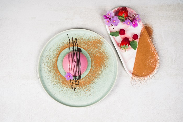 dessert mit himbeeren valentinstag panna cotta mit kokosmilch selber machen