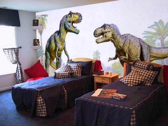 Dinosaurier Inspiration Fototapete Fürs Kinderzimmer Attraktive Ausstattung