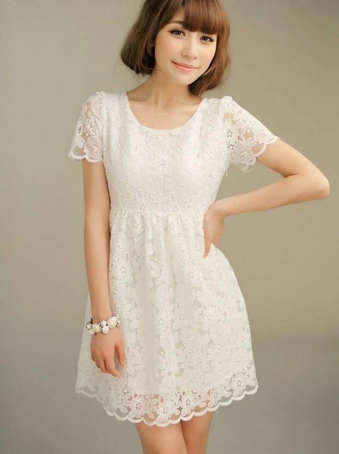 b535a9a6c8e1f 105 verblüffende Ideen für weißes Kleid! - Archzine.net