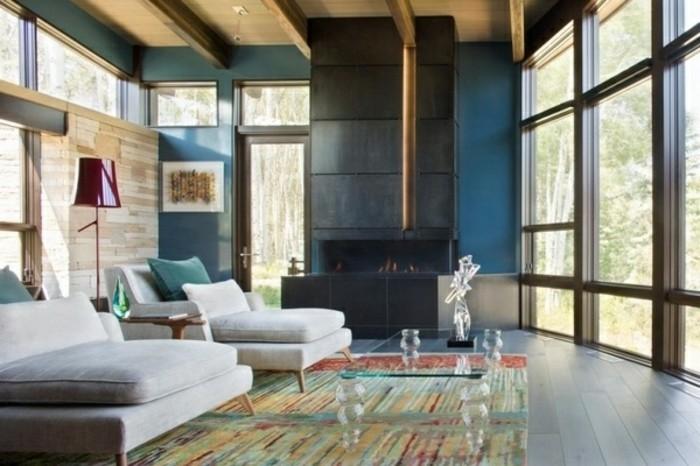 wohnzimmer petrol braun farbgestaltung wohnzimmer petrol braun inspirationen der
