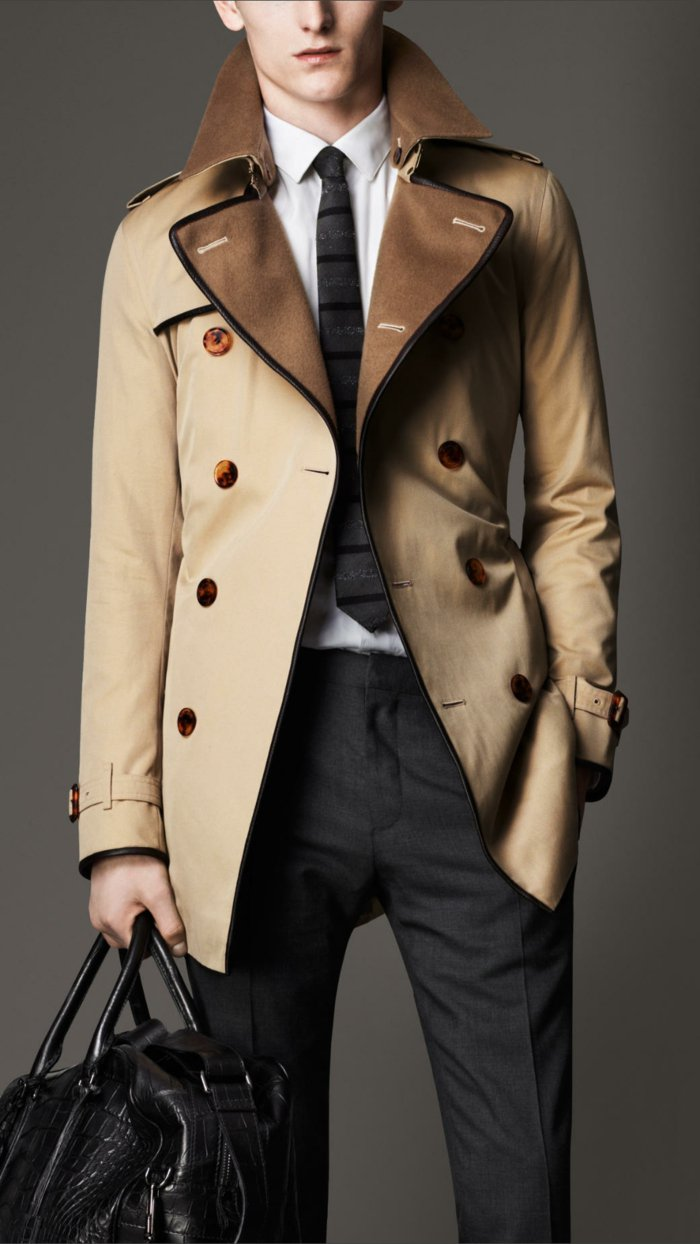 elegantes-Modell-Burberry-Trenchcoat-für-Herren